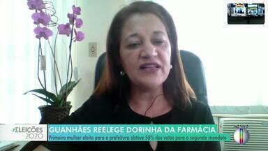 Dóris Campo Coelho (PDT), fala sobre a reeleição em Guanhães - Ela recebeu 9.016 votos.