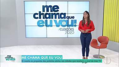 RJ1 mostra os prefeitos eleitos de Areal e Búzios - Gutinho (REDE) e Alexandre Martins (RP) falam sobre suas propostas para a administração de cada cidade.