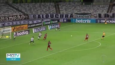 Atlético-MG sofre a primeira derrota em casa com Sampaoli - Alvinegro foi superado pelo xará paranaense.