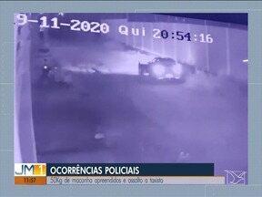 Taxista foi esfaqueado por assaltantes e teve o carro roubado em Imperatriz - Ocorrências policiais na Região Tocantina.