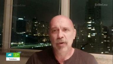 Empresário se contaminou com coronavírus em restaurante - Alcides Benevides, de 57 anos, é do grupo de risco, já sofreu dois infartos. Teve febre alta e dor no corpo, e está de quarentena em casa.