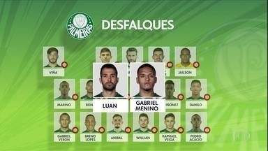 Palmeiras tem só 13 atletas do profissional para pegar o Goiás - Palmeiras tem só 13 atletas do profissional para pegar o Goiás