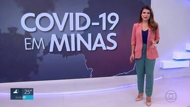 Veja a média móvel de casos e mortes pela Covid-19 em Minas e na capital - Em Minas o número de casos é de 2.424 em apenas 24h.