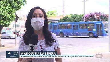 Médicos alertam para o aumento dos casos de Covid-19 em BH - Belo Horizonte está com mais de 52 mil casos confirmados da doença e 610 mortes.