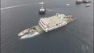 Velhos navios são afundados na Bahia para incentivar o turismo de mergulho - A prática, comum em várias partes do mundo, foi adotada pela primeira vez na Bahia.