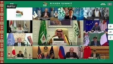 Pandemia é o tema central da reunião do G20 - Cúpula dos países mais ricos do mundo focou no impacto econômico da pandemia e na distribuição de vacinas entre todas as nações.