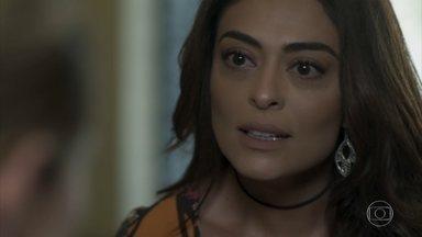 Bibi confronta Jeiza - Caio questiona a policial sobre seu depoimento contra Rubinho
