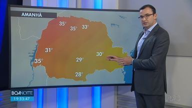 Confira a previsão do tempo para esta quarta-feira em todo o estado - Calor e baixa umidade do ar em boa parte do Paraná.