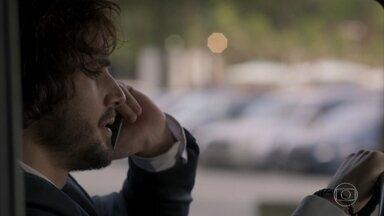 Ruy decide investigar Eugênio - Ruy conversa com Caio sobre medida protetiva contra Cibele. Eugênio confronta Irene sobre ligação atendida por Joyce. Ruy proíbe Ritinha de ir à luta de Jeiza