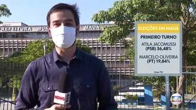Eleitores de Mauá voltam às urnas para o segundo turno - Atila Jacomussi, do PSB, tenta a reeleição contra Marcelo Oliveira, do PT.