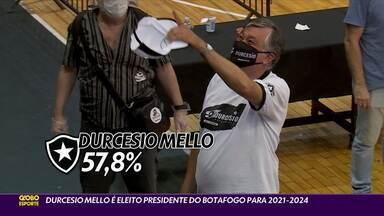 Durcesio Mello é eleito novo presidente do Botafogo - Durcesio Mello é eleito novo presidente do Botafogo