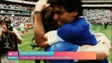Programa de 26/11/2020 - Morte de Maradona: futebol perde um dos maiores da história