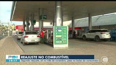 Combustíveis sofrem segundo reajuste de preço apenas em novembro - Combustíveis sofrem segundo reajuste de preço apenas em novembro