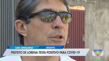 Prefeito de Lorena testa positivo para Covid-19 - Confira as informações.