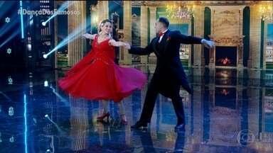 Danielle Winits e Fernando Schellemberg dança a musica 'I've Got You Under My Skin' - Confira