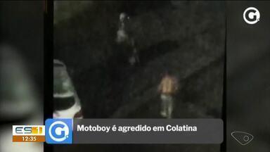 Empresário agride motoboy em Colatina, ES - Confira na reportagem.