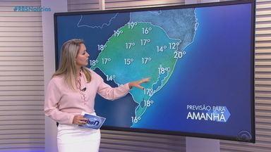 Quarta-feira (2) tem chances de temporal e ventos fortes no Noroeste do RS - Demais regiões seguem instáveis.
