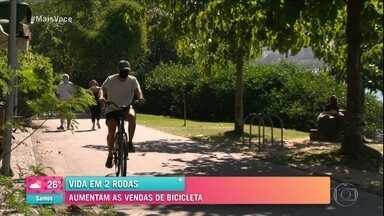 Vida em 2 rodas: Aumentaram as vendas de bicicleta - Pedalar com segurança, saiba como se proteger
