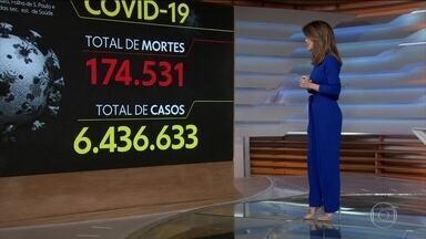 Brasil registra 174.531 mil mortes causadas pela Covid-19 - Veja os números atualizados da pandemia no Brasil, de acordo com o consórcio de veículos de imprensa.
