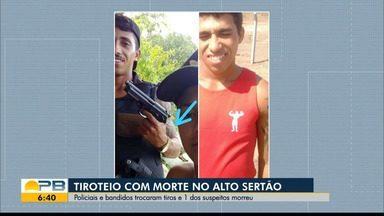 Suspeito morre em troca de tiros com policiais, em Brejo do Cruz, Sertão da PB - Polícia e suspeitos trocaram tiros e suspeito morto tinha passagem pela polícia