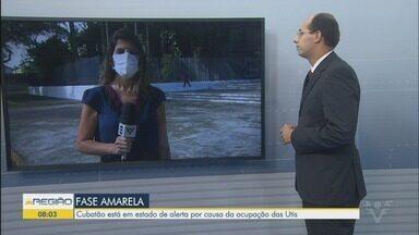 Cubatão está em estado de alerta por causa da ocupação das UTIs - Daniela Banks, diretora de Vigilância em Saúde, falou sobre o assunto.