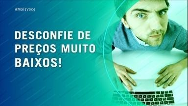 Confira dicas para se proteger durante as compras virtuais - Aumento nas vendas on-line faz crescer o número de vítima de golpes