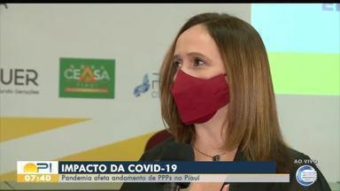 Pandemia da Covid-19 afeta andamento de parcerias público privadas no Piauí - Pandemia da Covid-19 afeta andamento de parcerias público privadas no Piauí