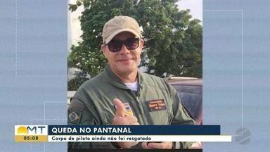 Corpo do piloto que morreu na queda de um helicóptero do IBAMA ainda não foi resgatado - Corpo do piloto que morreu na queda de um helicóptero do IBAMA ainda não foi resgatado
