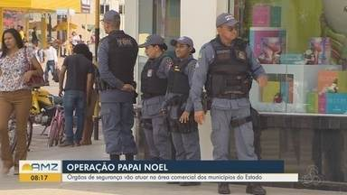 Operação Papai Noel: órgãos de segurança do AP devem mobilizar 5 mil homens no fim de ano - Trabalho inicia mais tarde devido adiamento das eleições municipais em Macapá. Reforço acontece na capital e no interior entre 9 de dezembro e 5 de janeiro de 2021.