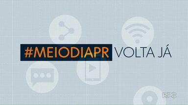 Telespectadores participam do Meio-Dia Paraná desta quinta-feira (3) com mensagens - Participe pelo telefone (42) 99974-0062 ou pelo aplicativo Você na RPC.