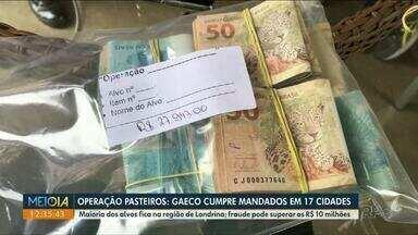 Gaeco deflagra operação contra fraude em licitações - Mandados estão sendo cumpridos em 17 cidades. Fraude pode superar os R$ 10 milhões.