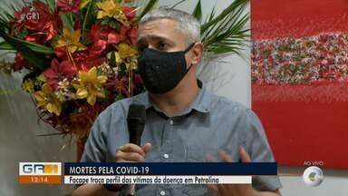 Facape traça perfil das vítimas da Covid-19 em Petrolina - O repórter Paulo Ricardo Sobral apresenta o resultado do estudo.
