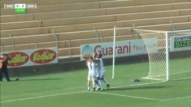 Novorizontino perde para o Água Santa nas quartas de final da Copa Paulista - Novorizontino perde para o Água Santa nas quartas de final da Copa Paulista.