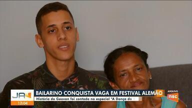 Bailarino catarinense conquista vaga em festival alemão - Bailarino catarinense conquista vaga em festival alemão