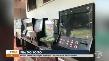 Polícia Federal deflagra operação 'Jogo Furado' em Santarém - Operação foi deflagrada na noite de quarta-feira (2).