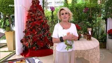 Programa de 04/12/2020 - Ana Maria Braga promove um jantar virtual no quadro 'Solteiros Online' e relembra a receita de mil folhas de bacalhau