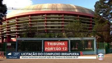 Atletas lamentam possível concessão do Ginásio do Ibirapuera à iniciativa privada - Esportistas lembram importância da estrutura para o esporte paulistano e nacional.