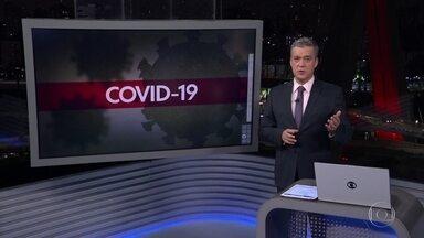 Estado de São Paulo volta a registrar quase 200 mortes pela covid-19 em 24 horas - Média móvel de mortes também subiu em comparação com as últimas semanas e o aumento foi de mais de 30%.