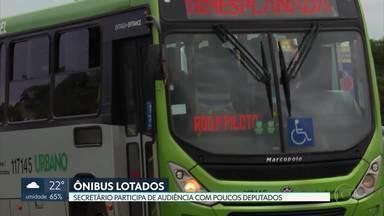 Secretário de Transporte dá explicações sobre a redução da frota de ônibus no DF - O secretário Valer Casimiro participou de uma audiência virtual na Câmara Legislativa, mas poucos deputados compareceram.