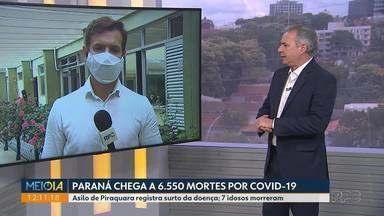 Asilo de Piraquara registra surto de Covid-19 - Sete idosos morreram.