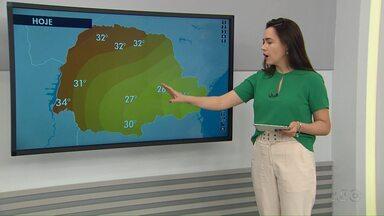 Previsão do tempo para Maringá e região - Dados são da Somar Meteorologia.