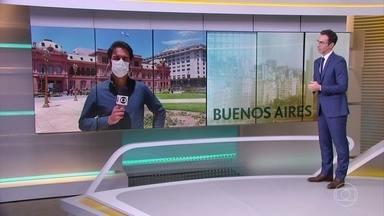 Argentina diz que vai usar vacina russa para imunizar a população contra Covid neste ano - Alberto Fernández anunciou que vão ser vacinados 300 mil argentinos até o fim do mês e 10 milhões até fevereiro.