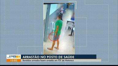 Suspeitos armados fazem arrastão em posto de saúde, no interior da PB - Caso aconteceu em Mataraca.