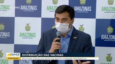 Covid-19: Governo do Amazonas explica como deve ser a distribuição da vacina - Prefeituras devem coordenar vacinação.