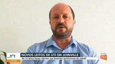 Jefferson Saavedra: mais leitos de UTI em Joinville - Jefferson Saavedra: mais leitos de UTI em Joinville
