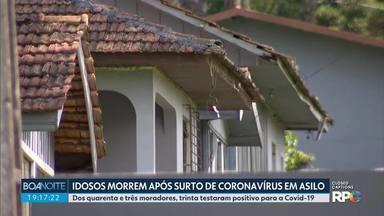 Sete idosos morrem por coronavírus em asilo de Piraquara - Dos quarenta e três moradores do asilo, trinta testaram positivo para a Covid-19.