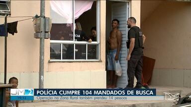 12 pessoas são presas por suspeitas de envolvimento em facção na zona rural de São Luís - Segundo a polícia, essas pessoas eram moradores de um condomínio onde os verdadeiros donos foram expulsos.