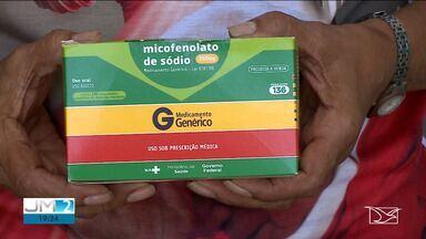 Pacientes transplantados denunciam falta de medicamentos no Maranhão - Medicamentos são de responsabilidade do Ministério da Saúde e estão em falta há duas semanas no estado.