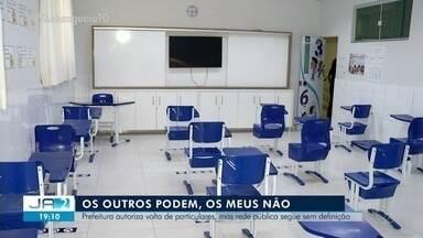 Prefeitura de Palmas autoriza volta de aulas presenciais apenas na rede particular - Prefeitura de Palmas autoriza volta de aulas presenciais apenas na rede particular