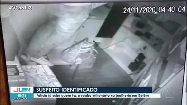Polícia identifica suspeito de assalto a joalheria - Polícia identifica suspeito de assalto a joalheria
